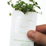 Визитка дизайнера по саду