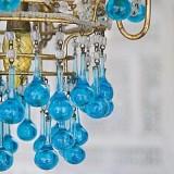 Бирюзовые люстры для дома