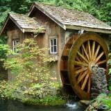 Несколько идей для водяной мельницы