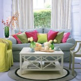 Весенний интерьер квартиры: яркие цвета