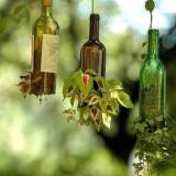 Идеи для подвесных мини-садиков