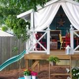Каждому свой дом: делаем беседку для детей в саду