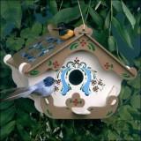 Оригинальное украшение для сада: 6 необычных домиков для птиц
