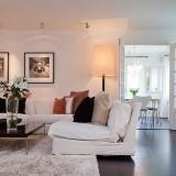 И снова белый в интерьере: дом в Стокгольме, Швеция