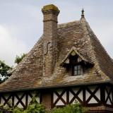 Вернемся в средневековье: Дома с крышей из черепицы