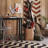 24 идеи использования узора зигзаг в интерьере: нестандартный принт для стен, пола и мебели