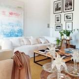 Белый + розовый: простой интерьер морского дома на Майорке
