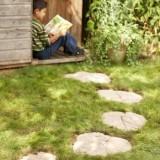 Оригинальные садовые дорожки: как сделать дорожку из листьев своими руками