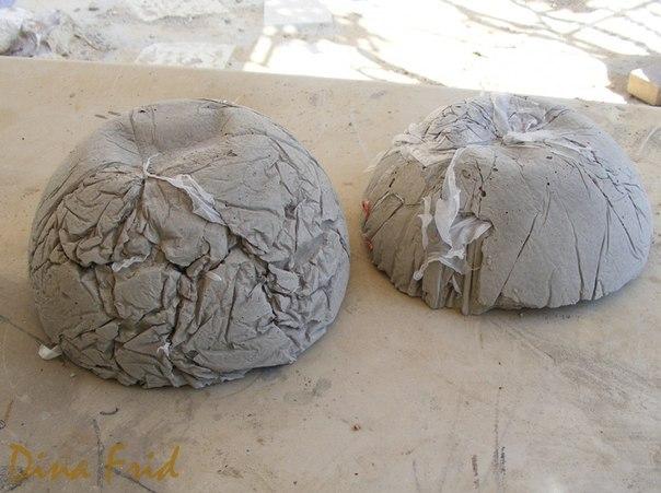 Поделки из бетона для сада своими руками