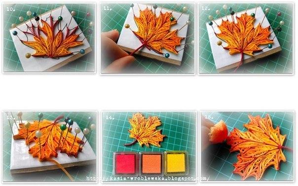 Идеи на осень своими руками