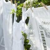 День стирки на даче: идеи для сушки белья в саду