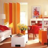 Сохраним осень дома: сочетание желтого и оранжевого цвета в интерьере
