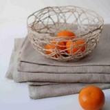 Идея декора: Делаем вазу для фруктов из ниток