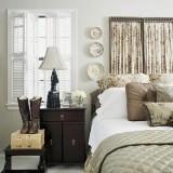 Поиграем в контрасты: темная мебель в спальне — варианты сочетния цветов