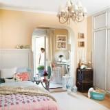 Персиковый, розовый и мятный: Детали интерьера уютной комнаты для девушки в пастельных тонах