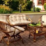 Простая роскошь из дерева: идеи для плетеной мебели для дома, веранды, балкона и улицы