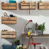 Экономичная мебель в эко-стиле: что можно сделать из деревянных ящиков