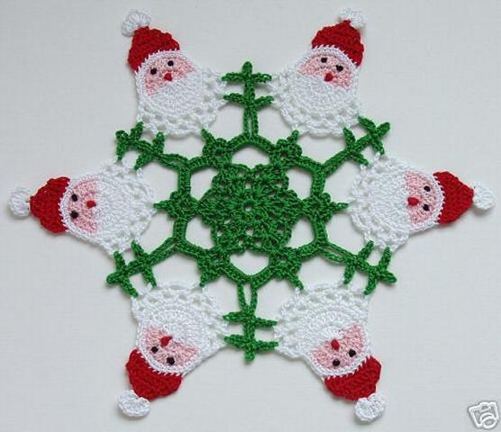 Дед мороз из салфеток своими руками схемы