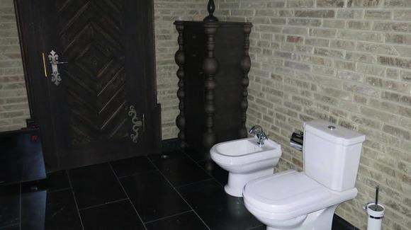 И в туалет заглянуть тоже можем, пока позволяют