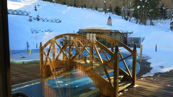 И пойдем по двор: рукотворный ручей с мостиком