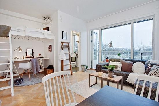 Дизайн квартиры 29 кв. м.