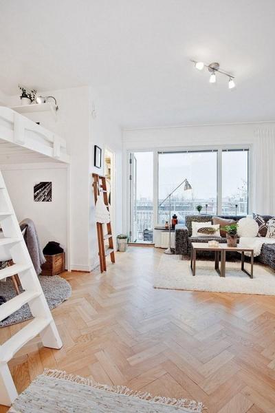 Светлая, просторная квартира 29 кв.м