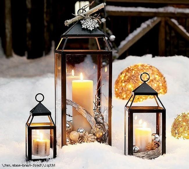 Как сделать фонари для свечей