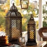 Подвесные фонарики для свечей: украшаем веранду, балкон, сад и комнаты в квартире. 27 фото