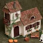 Делаем домик из бумаги своими руками: мастер-класс для мини-сада