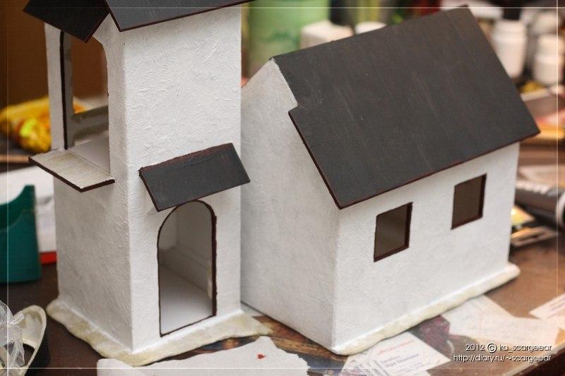 Поделка домик своими руками из бумаги