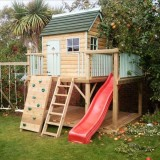 Как сделать дом для детей в саду: 10 идей домика для детских игр своими руками