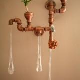 Индустриальные светильники в виде капель воды