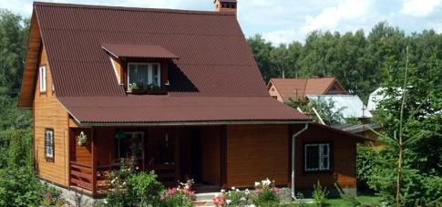 Виды кровли крыш для загородного дома с фото