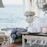 Фотообои с морем - идея для морского стиля интерьера
