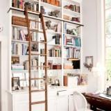 Любителям чтения: 19 идей, где разместить библиотеку дома и в квартире