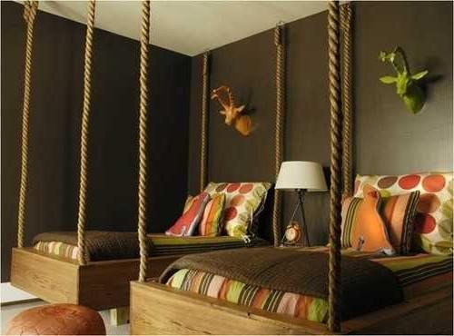 Веревки - канаты: подвесная кровать у вас дома