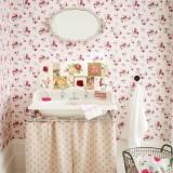 Винтажные детали ванной комнаты