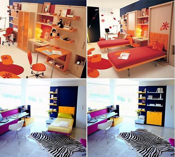 Идеи многофункциональной мебели для маленьких квартир