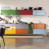 Добавим позитива: Кухонный гарнитур нескучных цветов для поднятия настроения