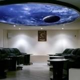 Особенности натяжных потолков с эффектом «Звездного неба»