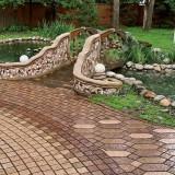Каменные дорожки в саду: самостоятельно укладываем тротуарную плитку