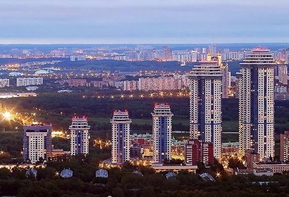 Элитный район столицы