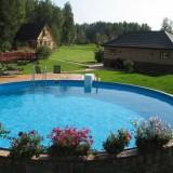 Строим бассейн в саду своими руками: советы по выбору формы, размера и расположения