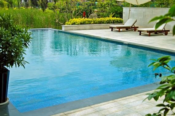 Строим бассейн в саду своими руками