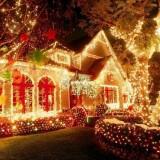 Новогодняя гирлянда — простой способ создать праздничное настроение