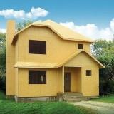 Каркасно-засыпные дома