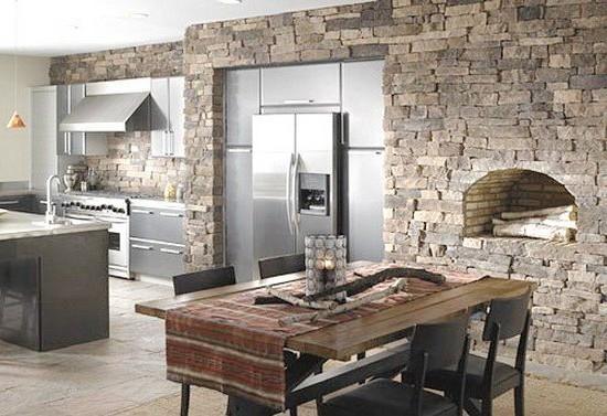 Кухни из камня