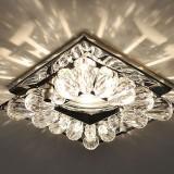 Выбираем светильники для натяжных потолков: фото, идеи и советы