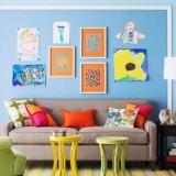 Как практично и красиво оформить стены в детской комнате?