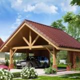 Место для вашего авто в загородном доме: гараж, навес, парковка